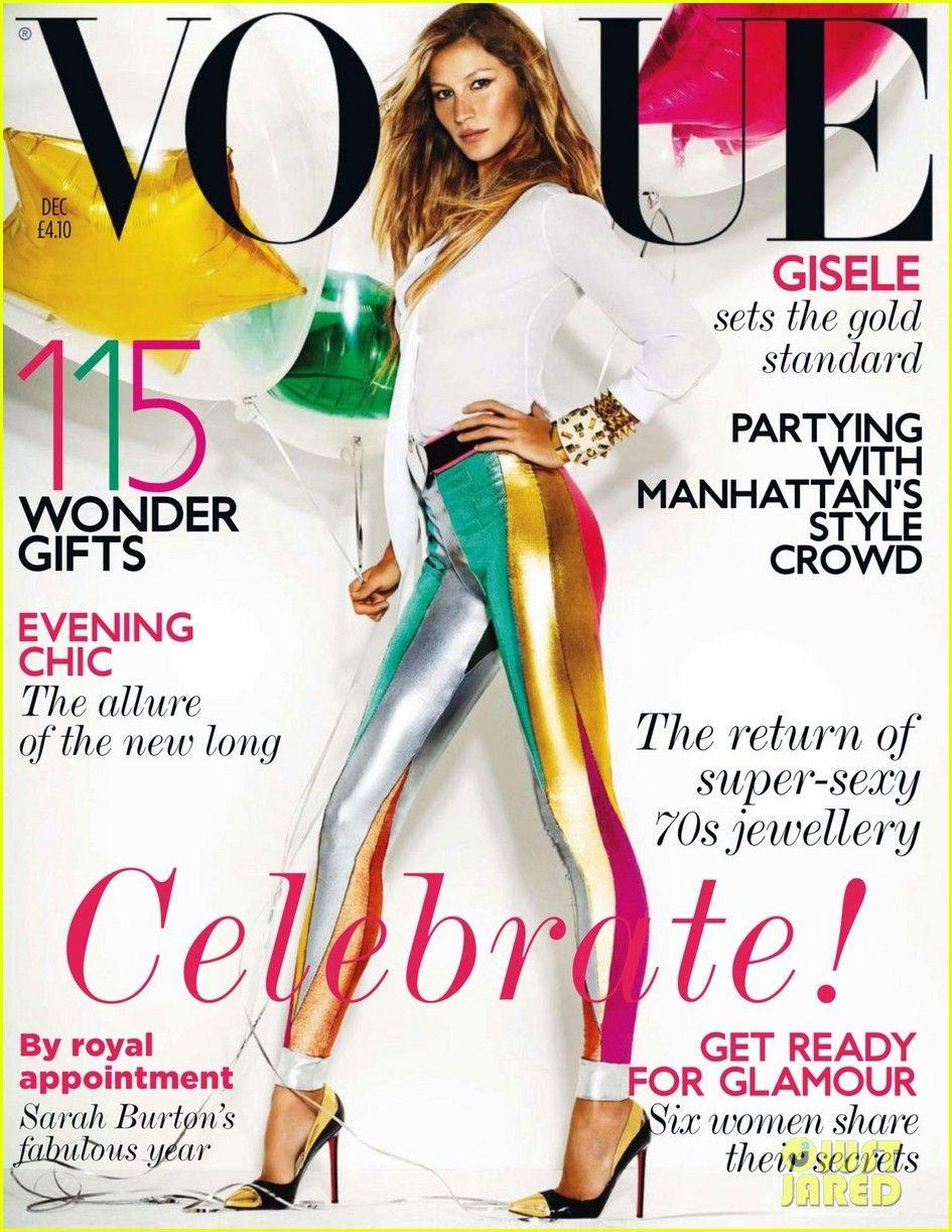 Smartologie: Gisele Bundchen for Vogue UK December 2011