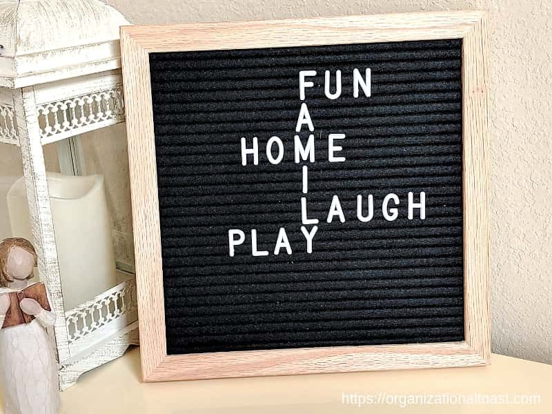 Letter Board Quotes About Family