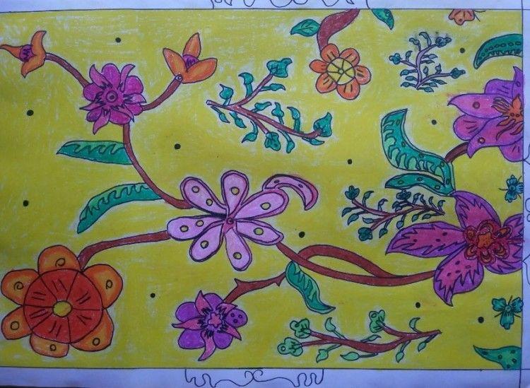 Ragam Hias Flora Dan Fauna Flora Gambar Pola Ukiran Kayu