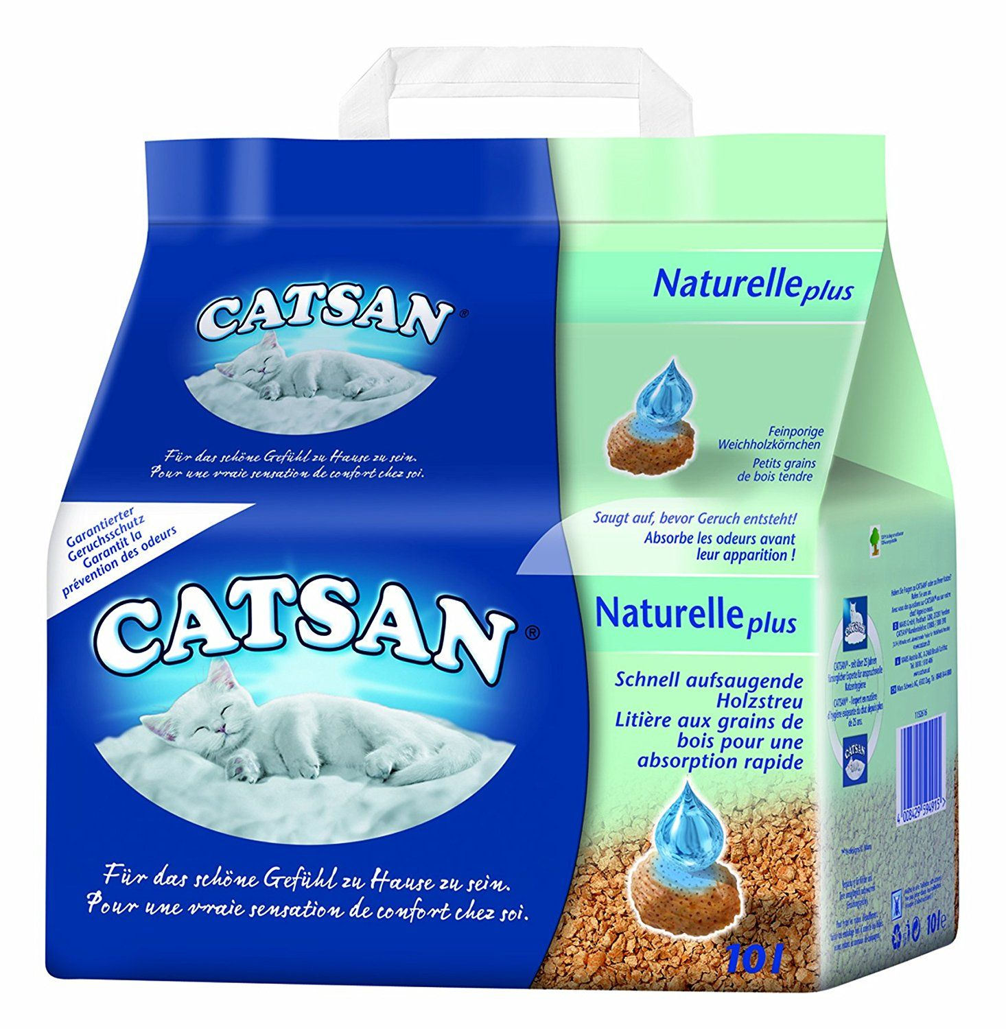 Catsan Litter Natural 10 Litre Pack Of 3 X 10 L Cat Pet Supplies Cat Litter Cat Litter Furniture