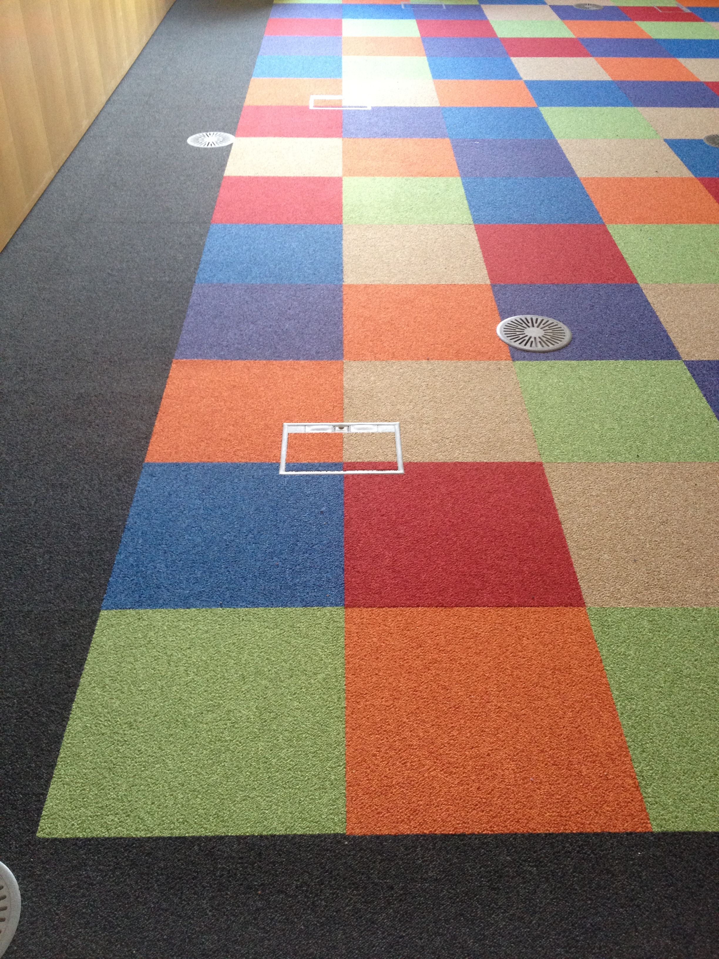 Interface Heuga 530 Flooring Installed Into Conference Room By Creedmiles