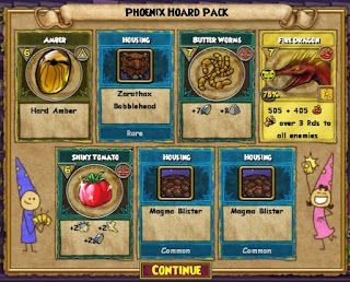 new 101 spiral pics | New Phoenix Packs From Wizard101