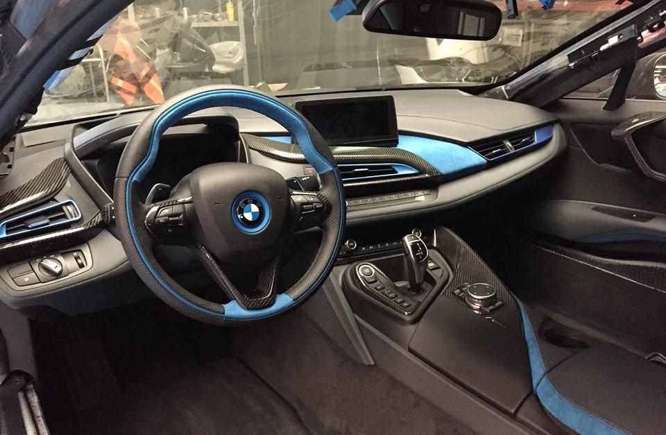 German Special Customs Bmw I8 Interior Kit Unveiled Custom Bmw