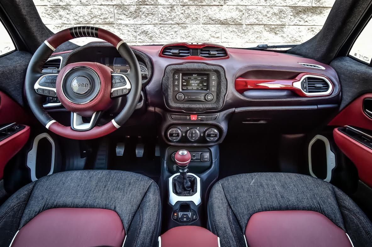 Garage Italia Custom Presents The New Jeep Renegade For The
