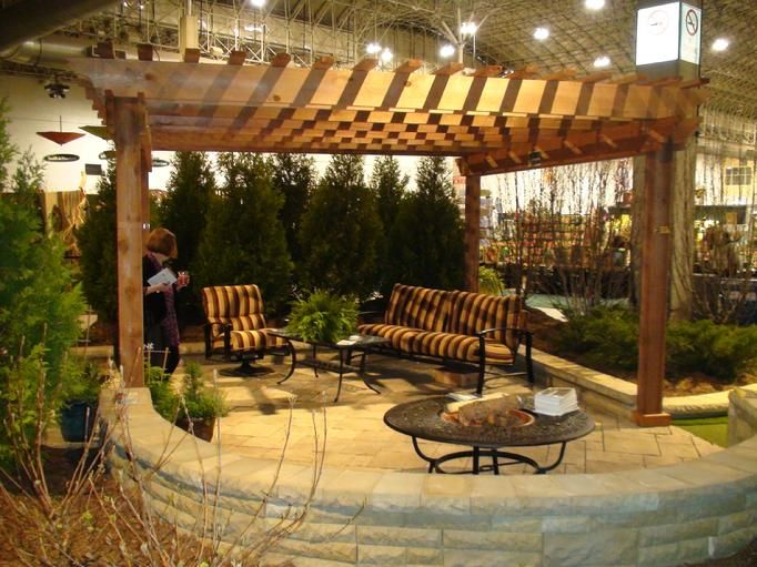 Western red cedar pergola if your interested in viewing for Cedar pavilion plans