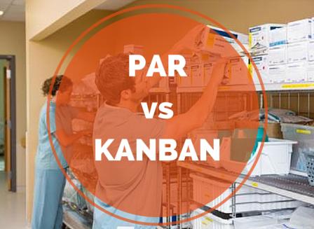 par vs kanban medical supply storage management methods