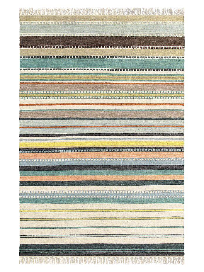 Teppich Kashba Splendid 160 x 230 cm, helle Streifen Teppich - moderne teppiche fur wohnzimmer