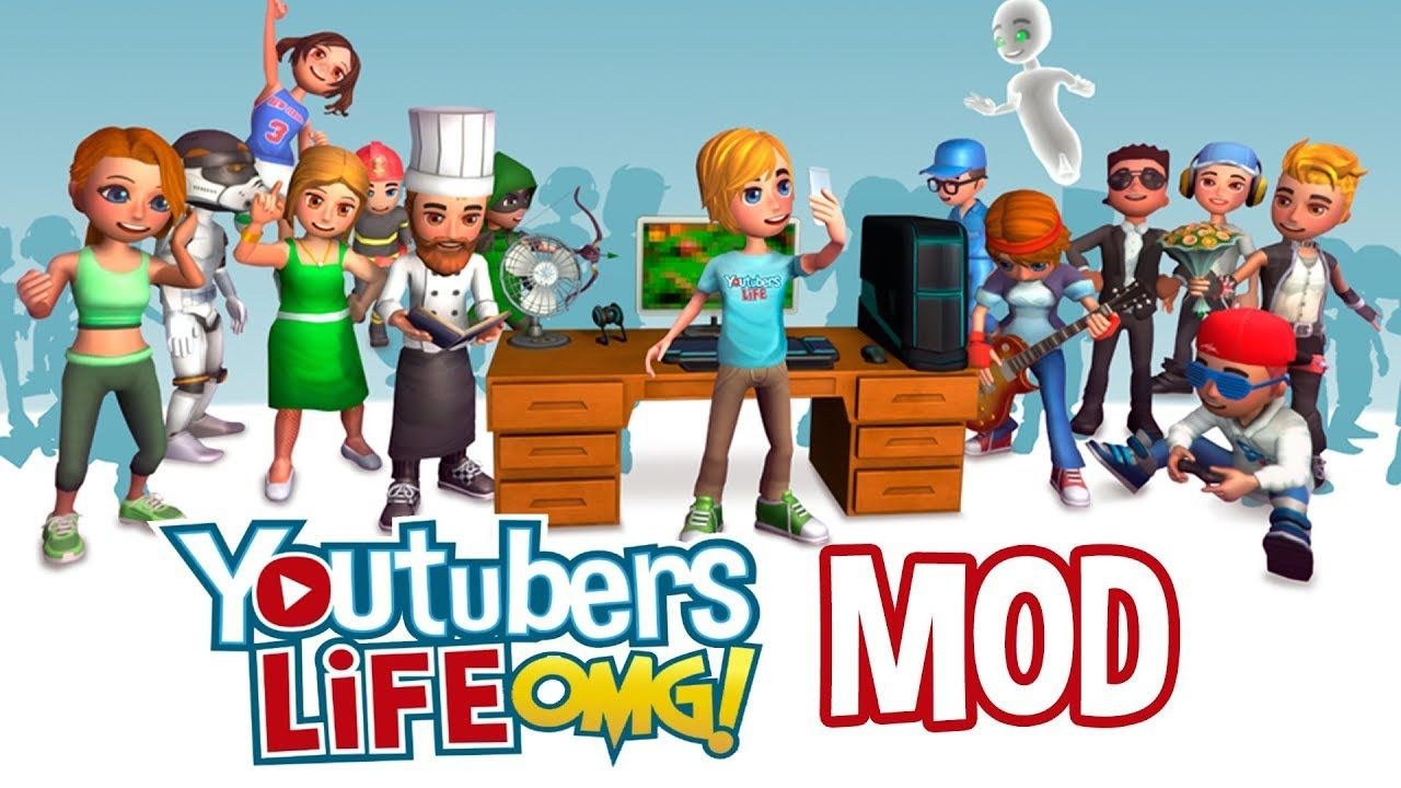 download youtubers life mod apk full version