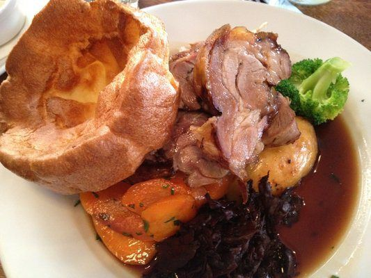 This Is For Lunch Roast Beef From The Famous Bacchus Pub And Kitchen