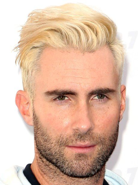 When Adam Levine Surprised Us All By Going Bleached Blonde