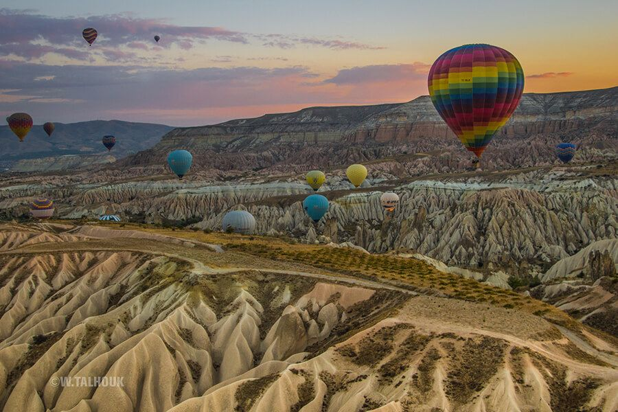 Purchase this product now and earn 150 Points!Photo was taken from the Balloon hot air in Cappadocia-Turkey upon sunrise Pixels: 4000x2667