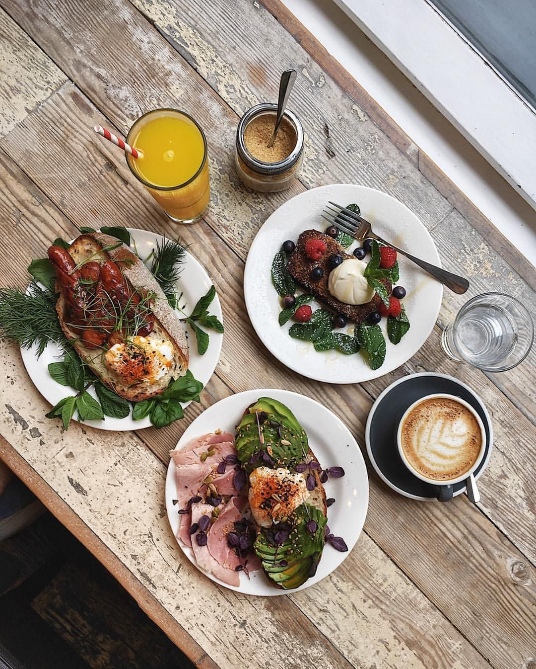 Started yesterday morning at Timberyard in Covent Garden ...