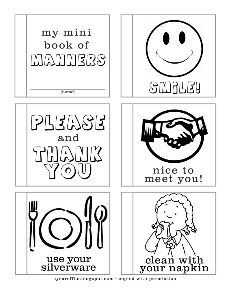 24+ Book of manners and etiquette ideas