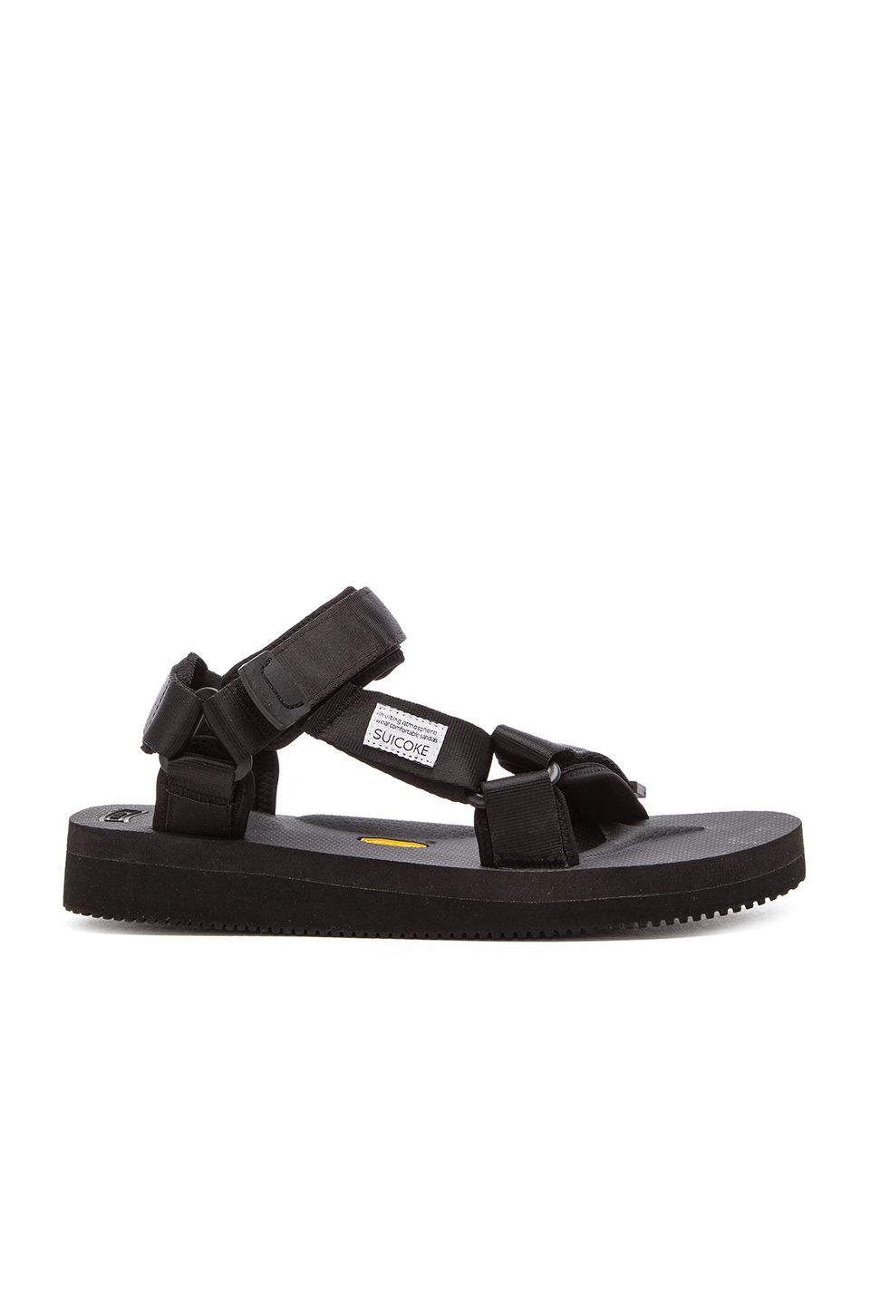 c48bbee0bdc8 SUICOKE SUICOKE DEPA-V2 SANDAL IN BLACK. .  suicoke  shoes  sandals ...
