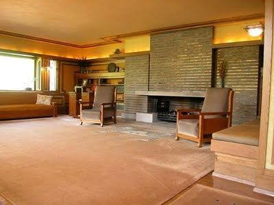 Fireplace Design By Frank Lloyd Wright Hearths Pinterest May