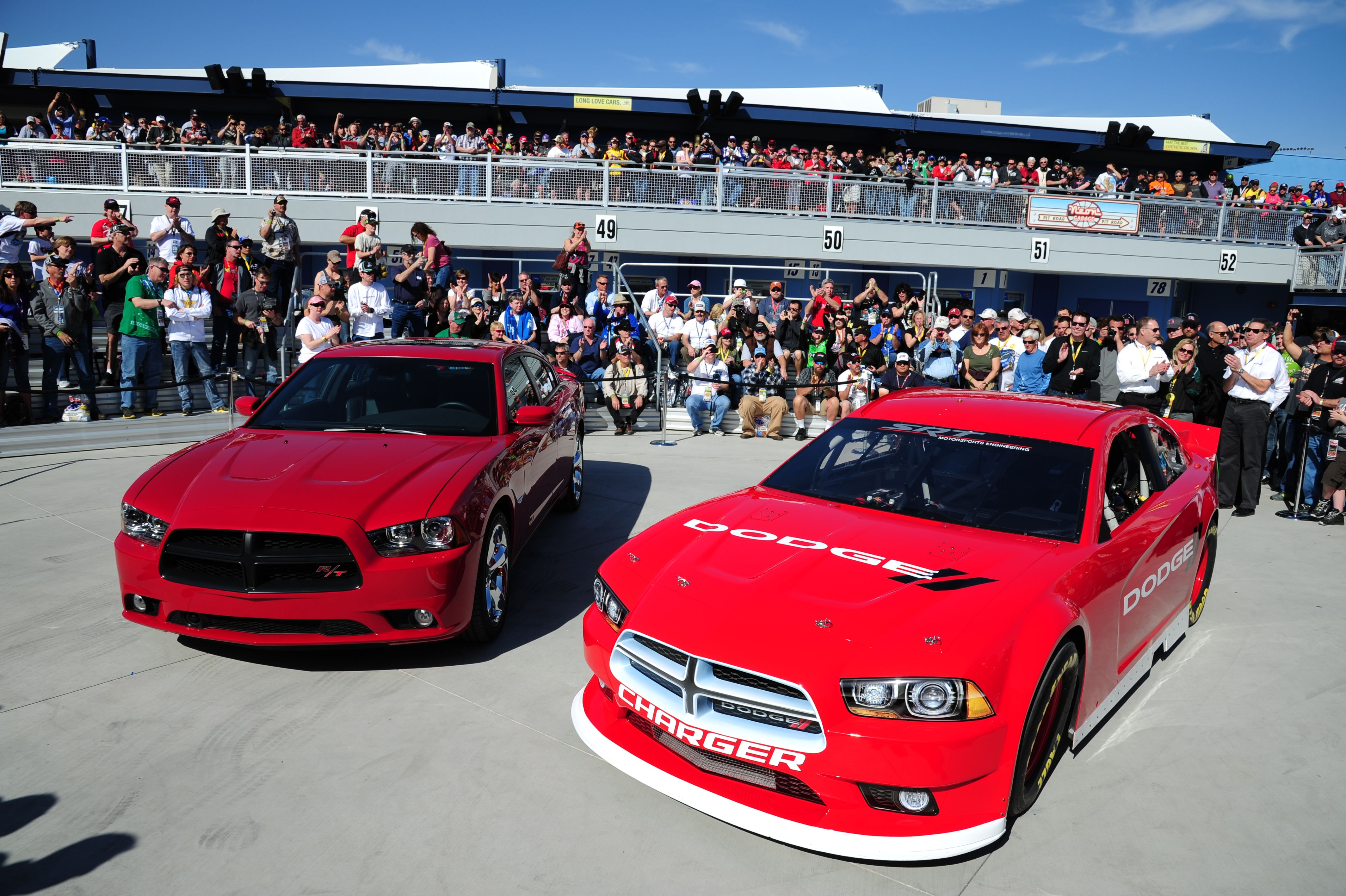 Dodge charger nascar sprint cup car unveiled car and