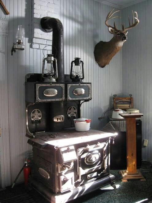 Antique Wood Cook Stove - Antique Wood Cook Stove Antiques & Oddities Pinterest Stove