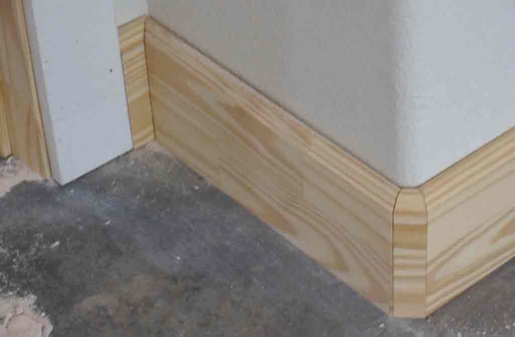 Rocky Hollow Home Trim And Cabinet Install Baseboard Styles Baseboard Trim Wood Baseboard