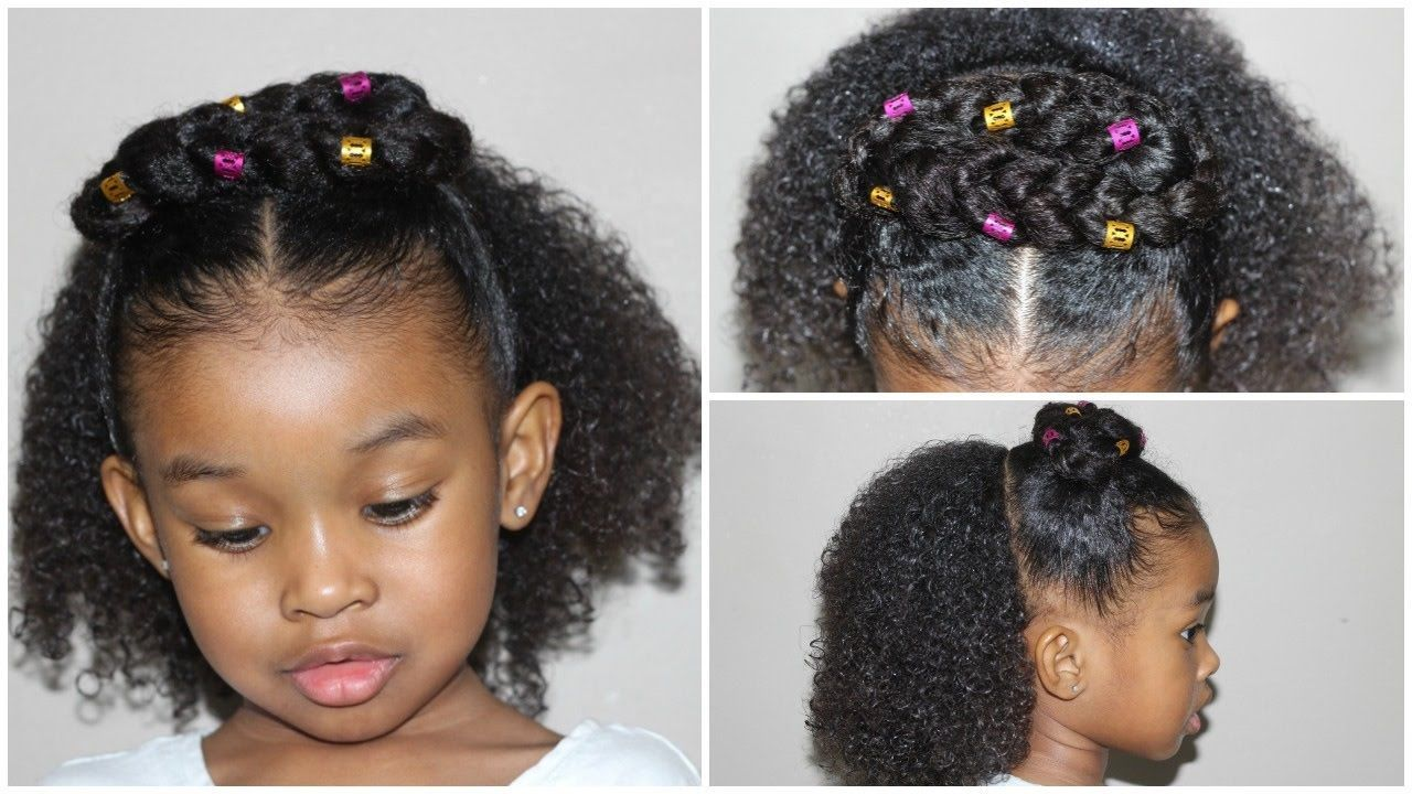 Half up and down hairstyle cute girls hairstyles natural