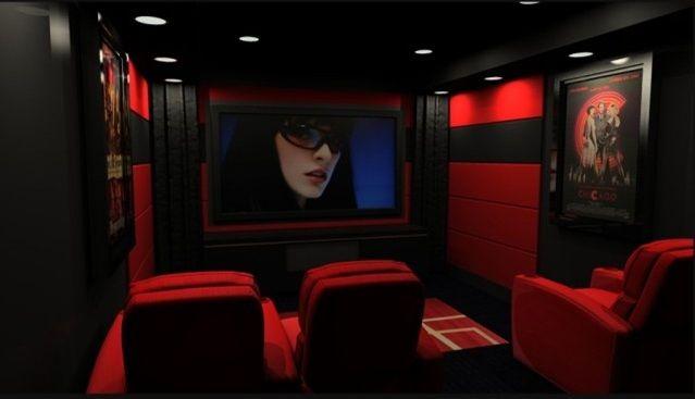 Petite Salle De Cinema Maison Deco Classique Avec Images Salle