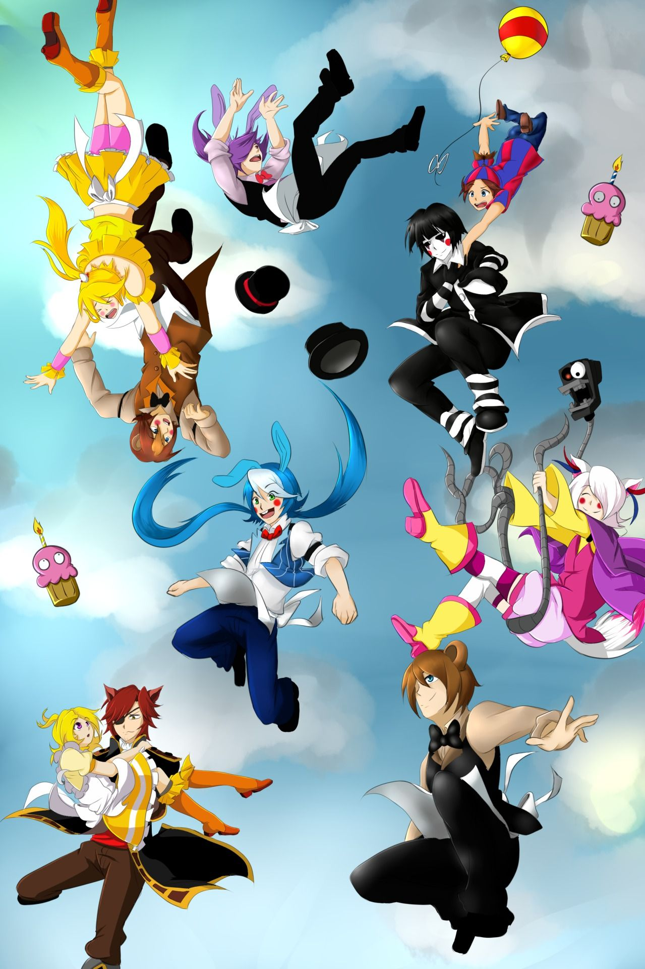 Open RP (I'm Foxy, Toy Chica and BB) Foxy Chica are you