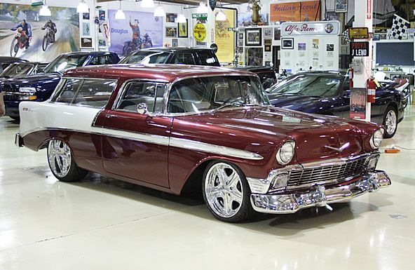 Jay Leno S 1956 Chevy Nomad Sports Cars Mustang Chevy Nomad