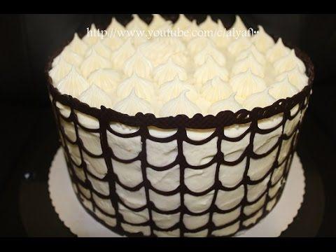 طريقة تزين الكيك تورته الشيف ام فراس Cake Desserts Food