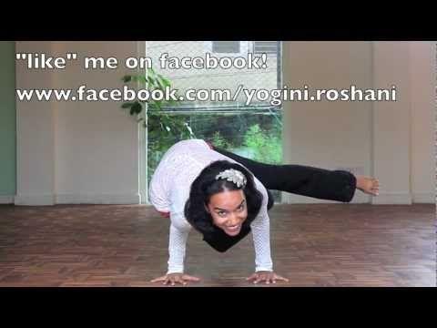 beginnerintermediate yoga arm balance that looks cool