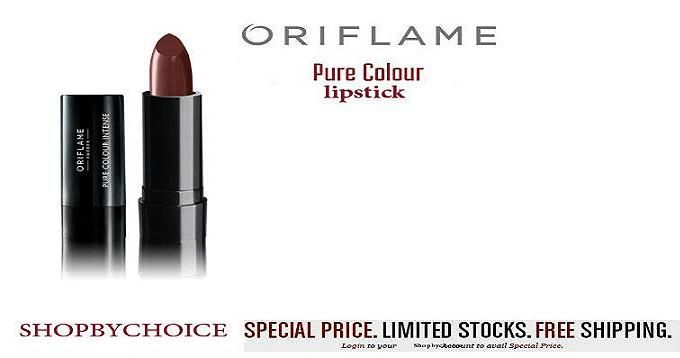 Nothing is more special than a WEBSITE Opening SALE !!! Grab your Oriflame Pure Colour Intense Lipstick at Rs.- 1,19/- each!!!!!!! .