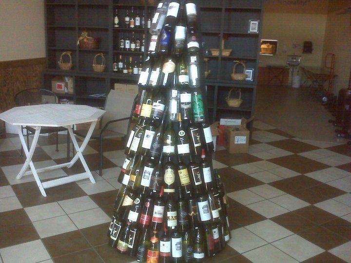 Wine Bottle Christmas Tree Rack.Wine Bottle Christmas Tree Christmas Ideas Wine Bottle