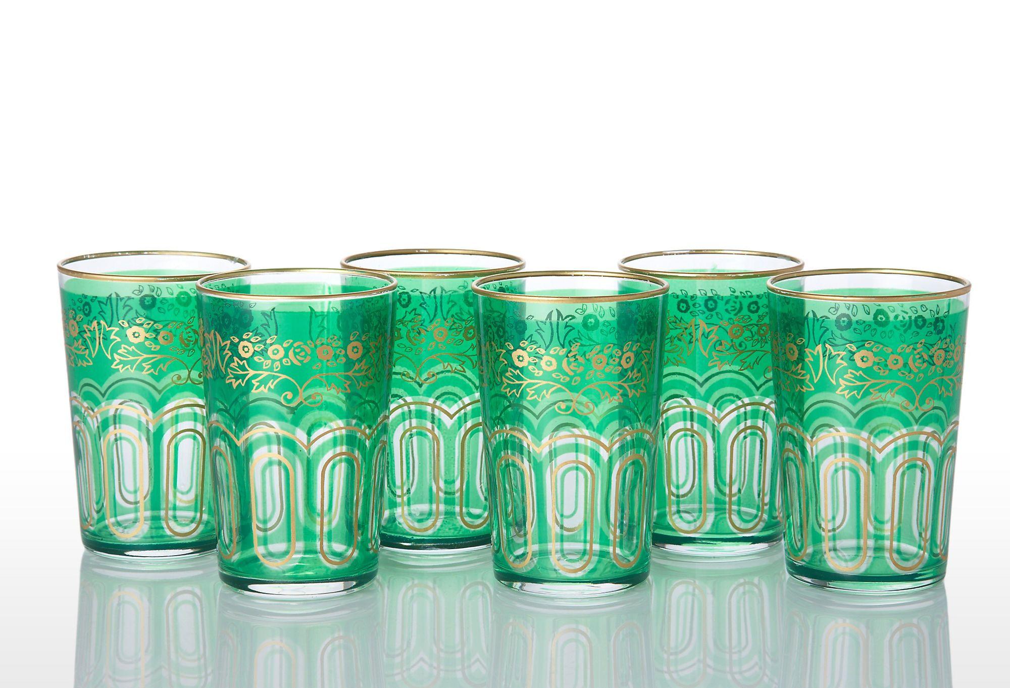 Moroccan Tea Glass Set