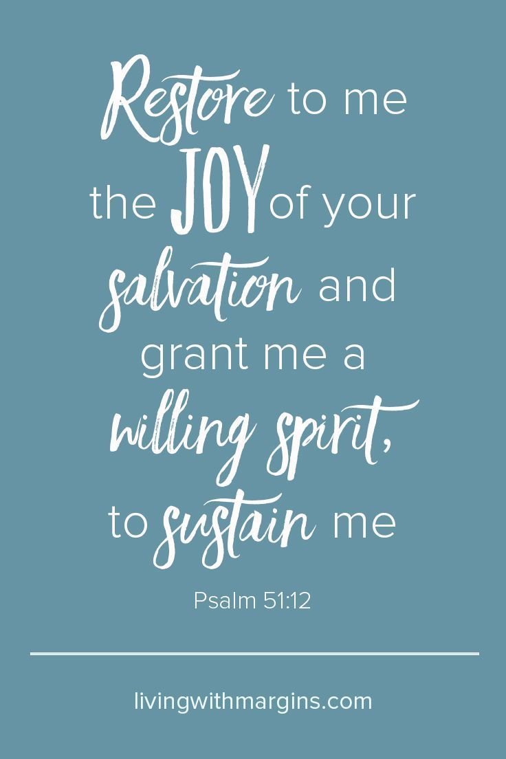 Favorite Restore To Me Joy Your Psalm Learning To Celebrate Psalm Psalm Scriptures Scriptures About Joy Scriptures About Joy Images inspiration Scriptures About Joy