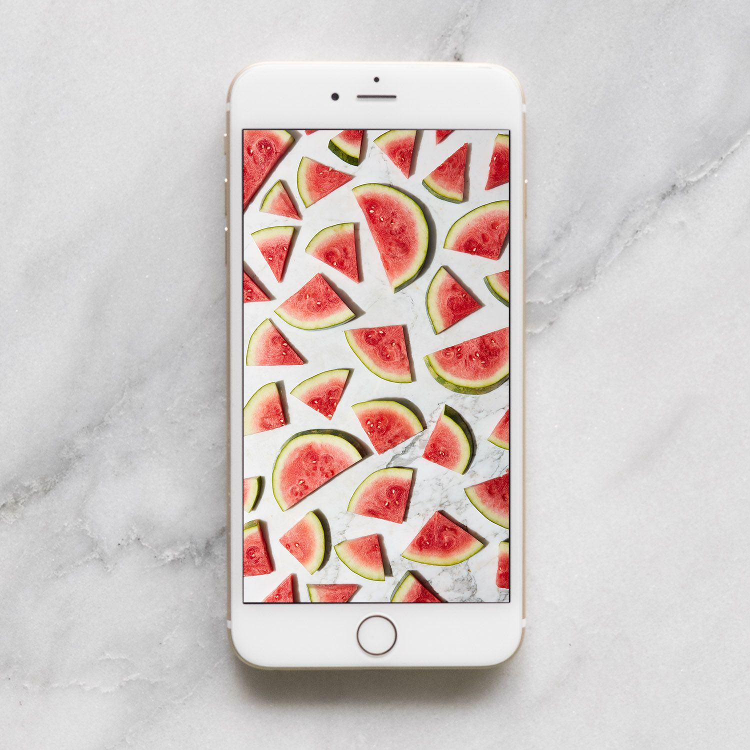 west elm - Watermelon Pattern Mobile Wallpaper