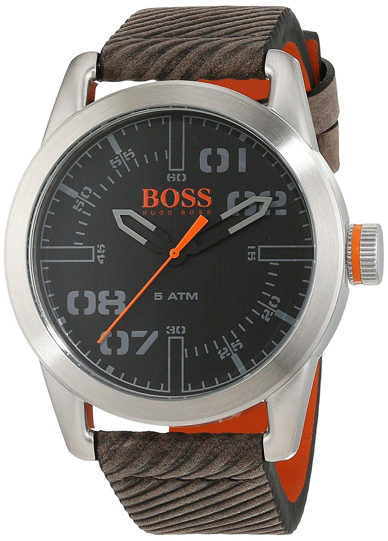 tout neuf 567f0 7c815 Montre Hugo Boss Orange Homme 1513417 - Quartz - Analogique ...