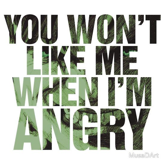 Hulk Quotes Angry Mh Available To Buy On… Tshirts & Hoodies Stickers  Quotes