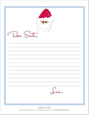 News Tagged Letter To Santa  Paper Nook  Christmas