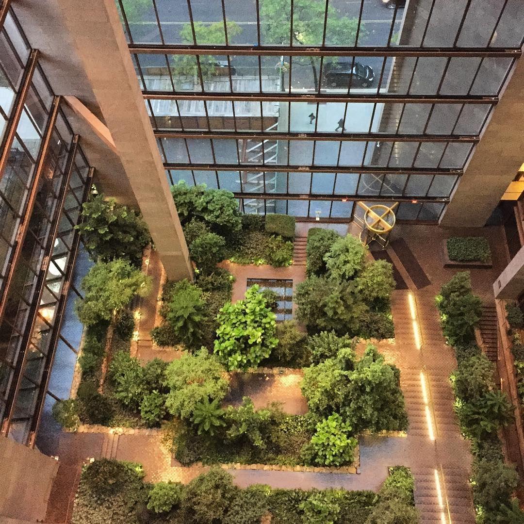ford foundation atrium garden places u0026 spaces pinterest