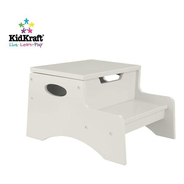 Surprising Kidkraft Step N Store Vanilla 15634 Products Stool Inzonedesignstudio Interior Chair Design Inzonedesignstudiocom