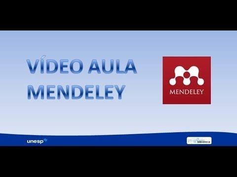 Mendeley Video Aula
