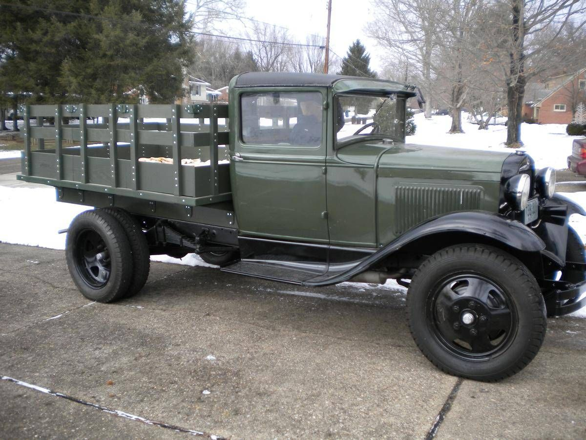 1931 Ford Model Aa Stake Bed Truck Classic Trucks Ford Trucks