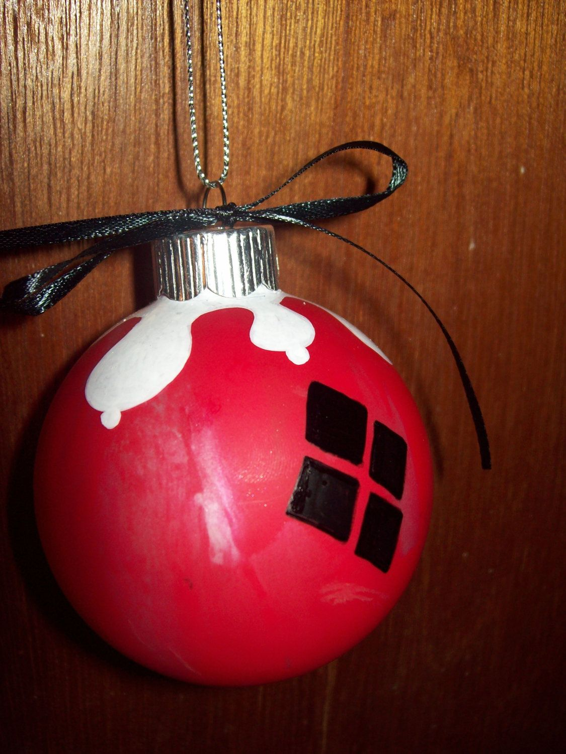 Hey puddinu a harley quinninspired ornament harley quinn