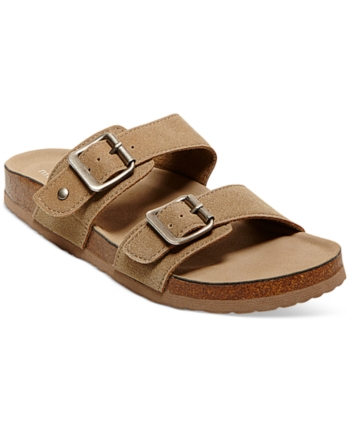 278b4a683f21 Madden Girl Brando Footbed Sandals - Tan Beige