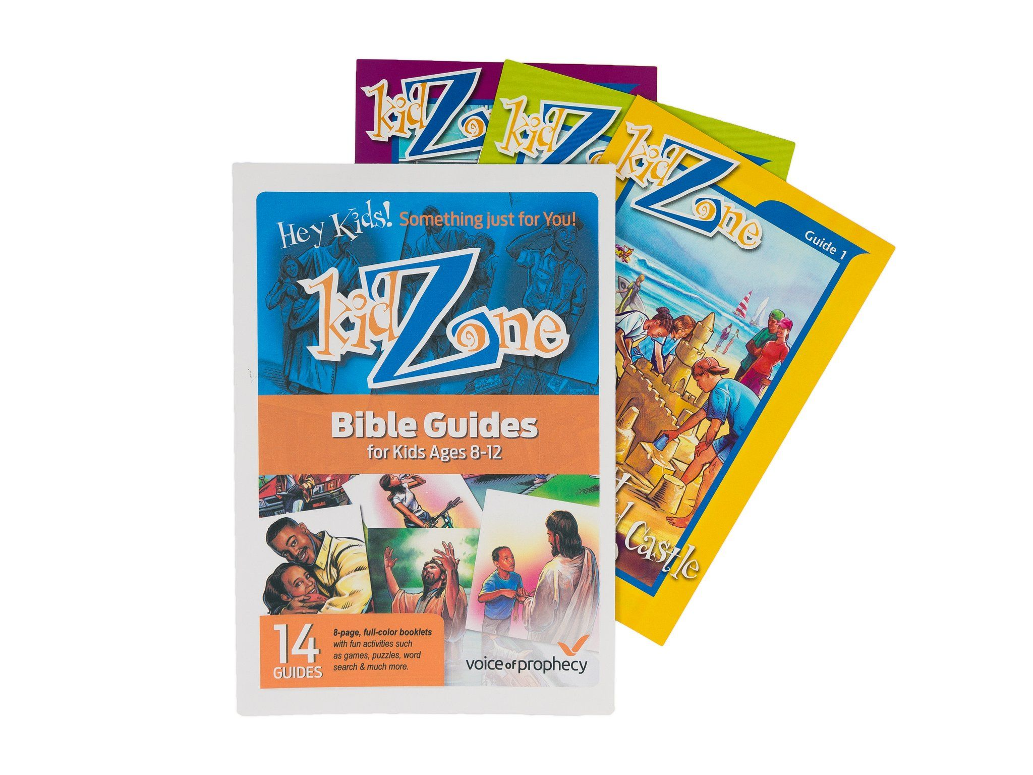 KidZone Bible Study Guides - Full Set | Bible study guide and Activities