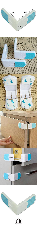 Highdas Child Child Proofing Cajones adhesivos 3M Cerraduras de seguridad 6 Packs  ✿ Seguridad para tu bebé - (Protege a tus hijos) ✿ ▬► Ver oferta: http://comprar.io/goto/B01MT74XFF