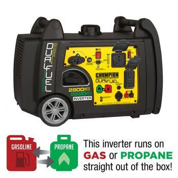 Starting 9 1 Costco Com Champion Dual Fuel 2800wt Running 3100wt Peak Digital Inverter G Portable Inverter Generator Inverter Generator Dual Fuel Generator
