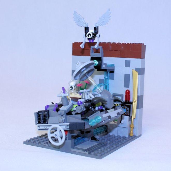 LEGO Ideas - Mad Scientist's Laboratory Part 2