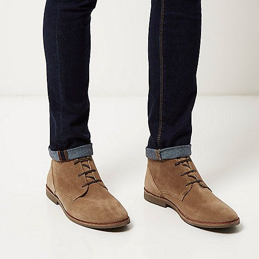 1abc4e79fe6810 These match the jean of the same color. Stone suede chukka boots - chukka  boots - shoes / boots - men