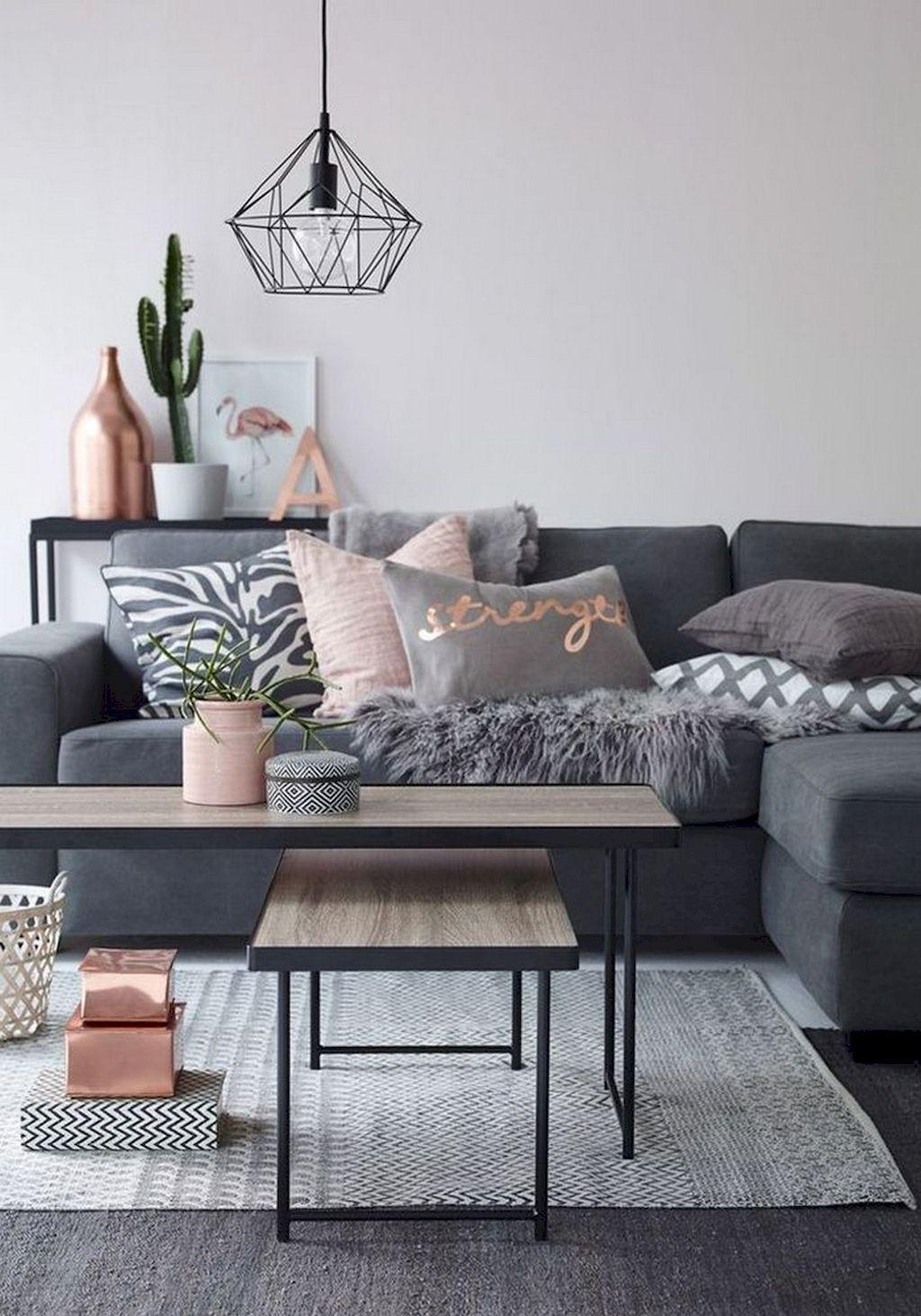 pin by sarah burde on apartment living room grey home decor room rh pinterest com