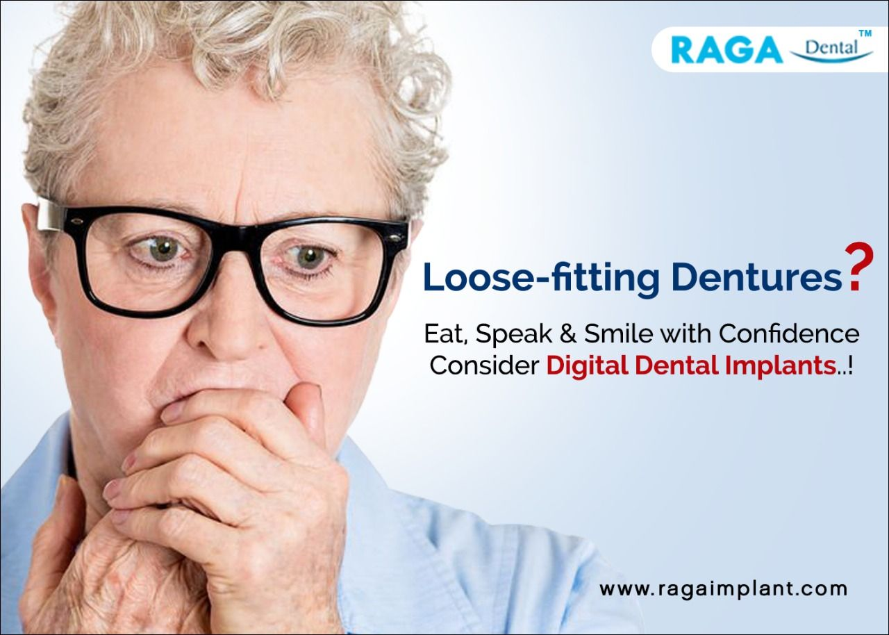 Do you suffer from loose dentures embarrassed to smile