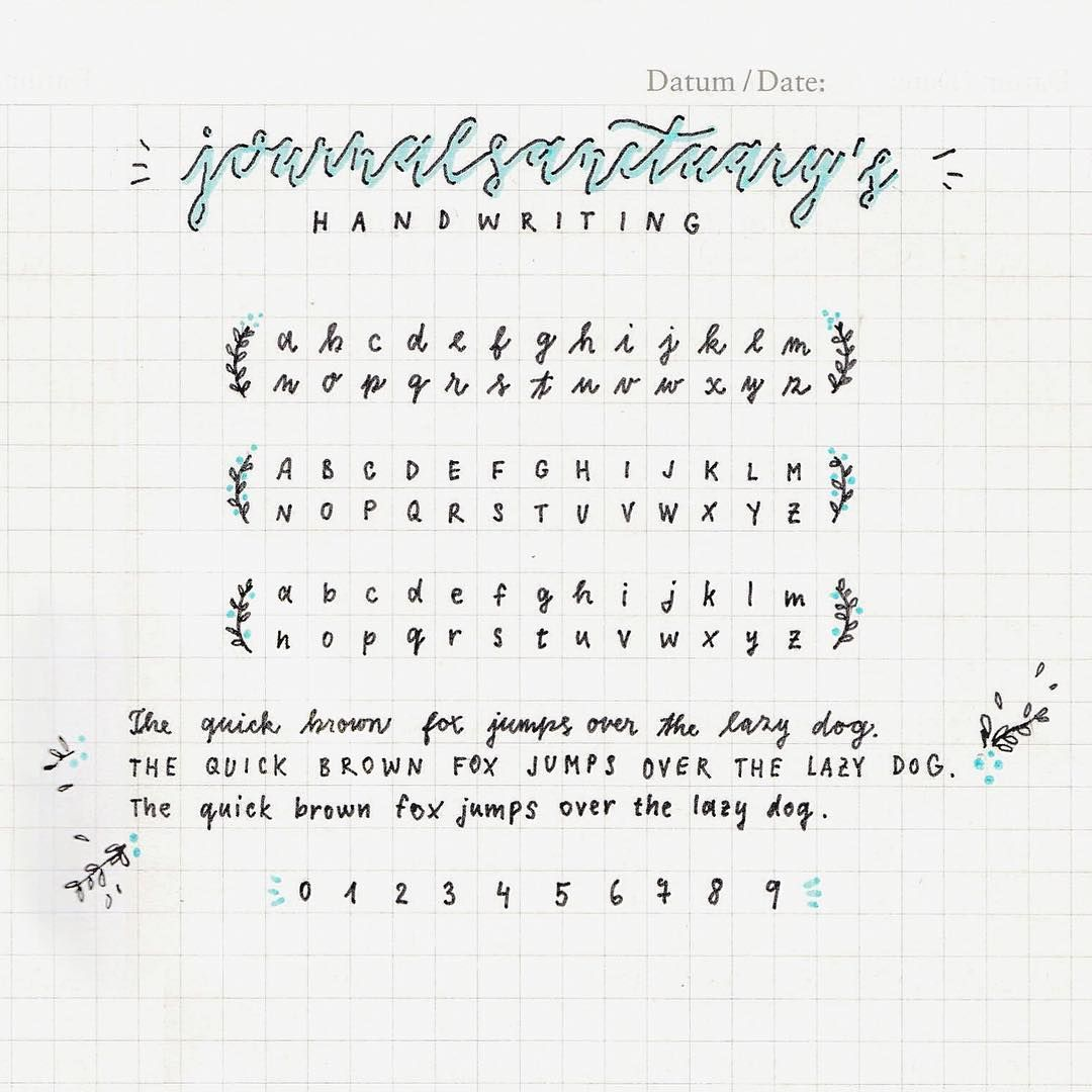 Vestiblr I Always Get Messages Of People Asking For Handwriting Reference And Advice Cute Notes So Decided To Make A Nice Post With Some Tips